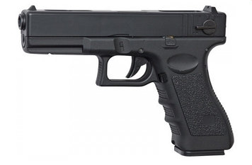 Пистолет для страйкбола ASG G18C, Калибр: 6,0 мм, Дульная энергия: 0,3 Дж, Ёмкость магазина (барабана): 23, Ис
