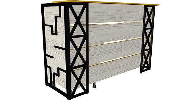 """Ресепшн с крестами """"loft"""", фото 2"""
