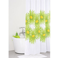 Штора для ванны IDDIS Green Blossom SCID093P