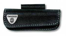 Чехол для ножа Victorinox POUCH 4.0521.3H, Материал: Кожа, Крепление: На пояс, Застежка: Velkro (липучка), Цве