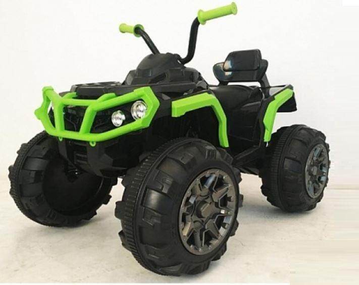 Квадроцикл Bugati на аккумуляторе зелено-чёрный