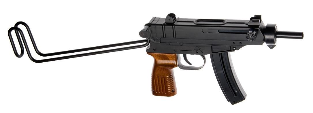 Пистолет для страйкбола ASG CZ Scorpion Vz61, Калибр: 6,0 мм, Дульная энергия: 0,7 Дж, Ёмкость магазина (бараб