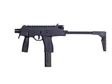 Пистолет-пулемёт для страйкбола ASG B&T MP9 A1, Калибр: 6,0 мм, Дульная энергия: 1,0 Дж, Ёмкость магазина (бар
