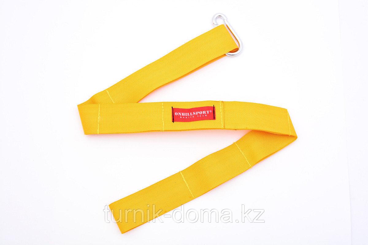 Петли TRX для функционального треннинга желтые - фото 6