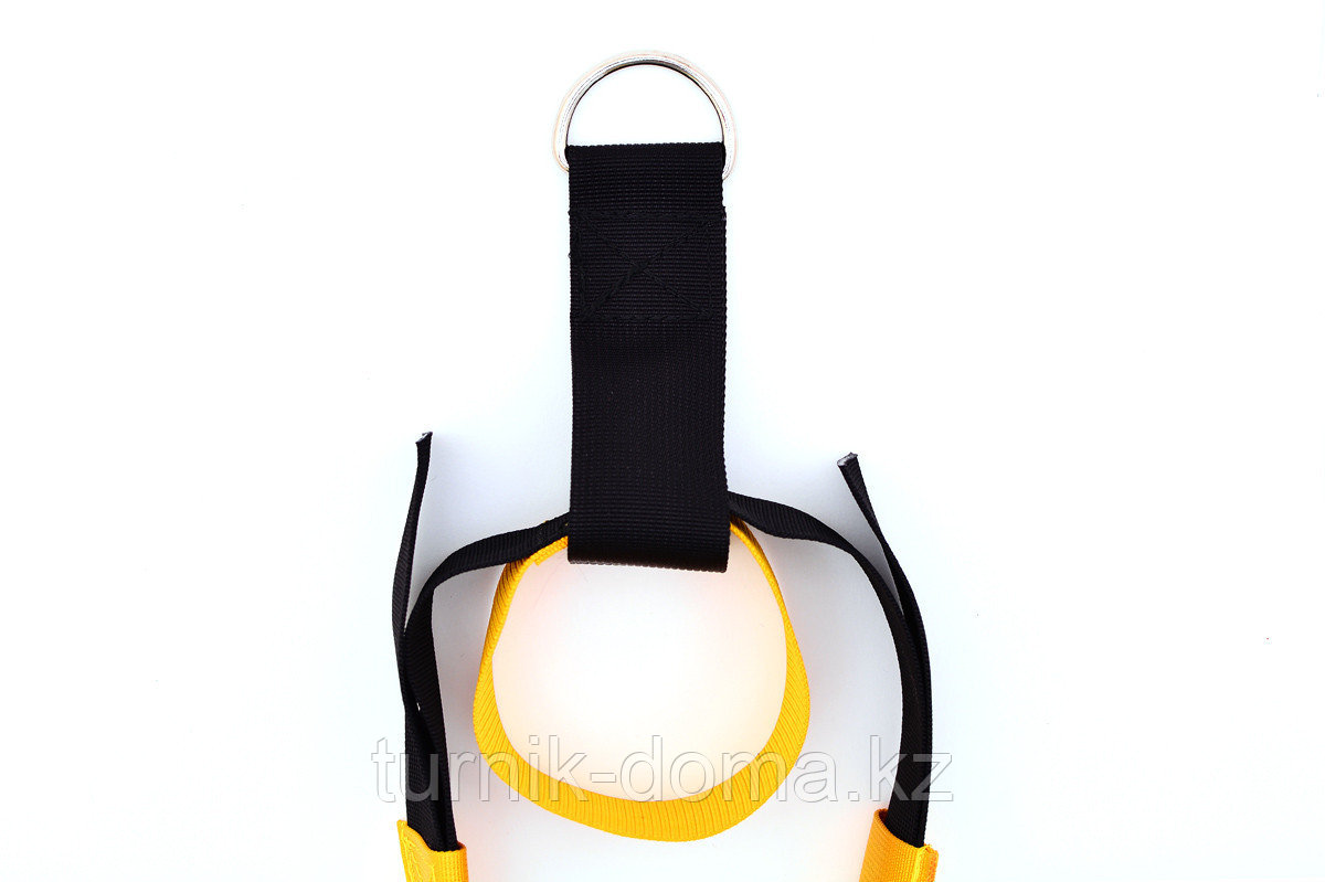 Петли TRX для функционального треннинга желтые - фото 8