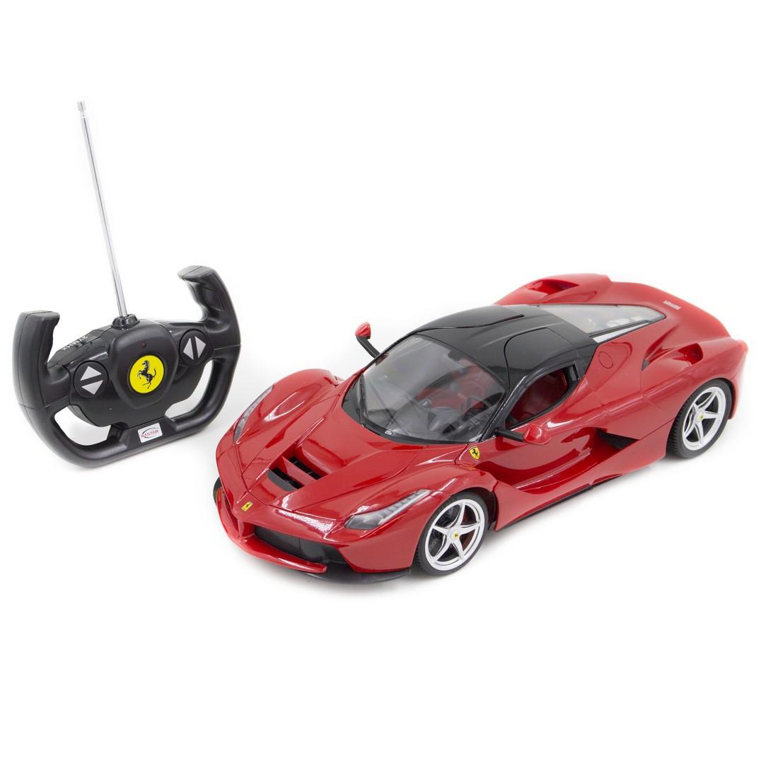 Радиоуправляемая модель автомобиль Rastar Ferrari LaFerrari, 1:14, Управление: Джойстик, Материал: Пластик, Цв