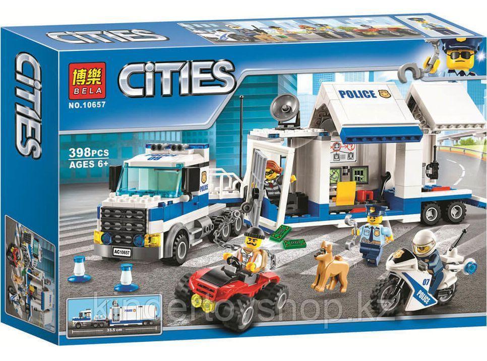 """Конструктор Аналог LEGO City 60139 Bela 10657 """"Мобильный командный центр"""" 398 деталей."""