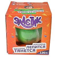 """Пластилин """"Эластик"""", зеленый, 120 г"""