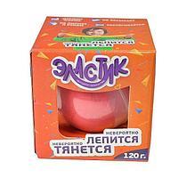 "Пластилин ""Эластик"", розовый, 120 г"