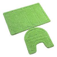 Набор ковриков для ванной комнаты  IDDIS Green Landscape 240M590i13