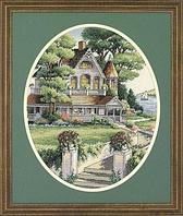 """Набор для вышивания крестом """"Викторианский дом"""""""