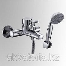 СЛ-ОД-Д30 Смеситель для ванныс корот изл  перекл кн одн Д30