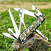 Нож складной армейский Victorinox Huntsman, Кол-во функций: 15 в 1, Цвет: Хаки, (1.3713.94), фото 2