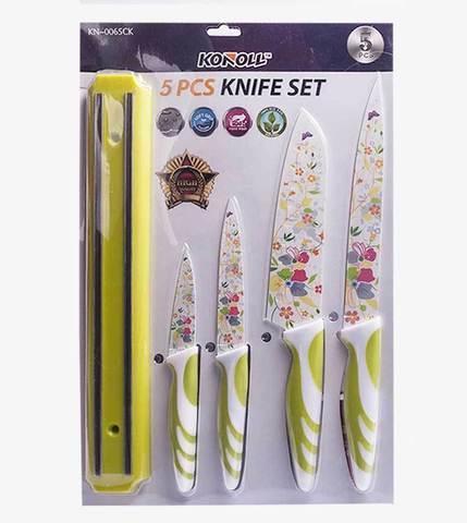 Набор ножей с керамическим покрытием KONOLL KN-0065CK