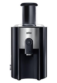 Соковыжималка центробежная для овощей и фруктов Braun Multiquick 5 J500, 900 Вт, Объем сока: 1,25 л, Диаметр о