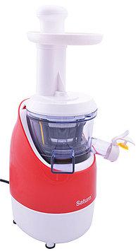Соковыжималка шнековая для овощей и фруктов Saturn ST-FP8087, 200 Вт, Объем сока: 0,55 л, Скоростей: 1, Цвет: