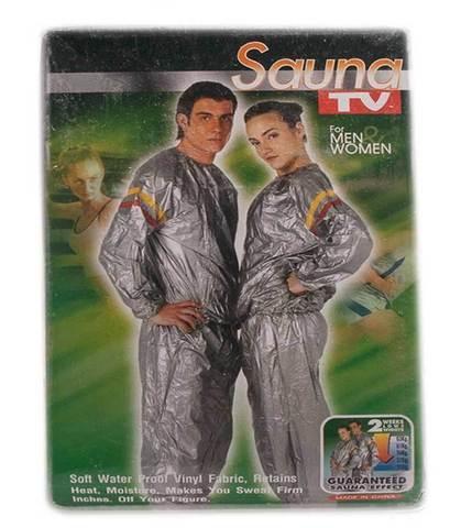 Костюм-сауна для похудения Unisex Sauna Suit (XL)