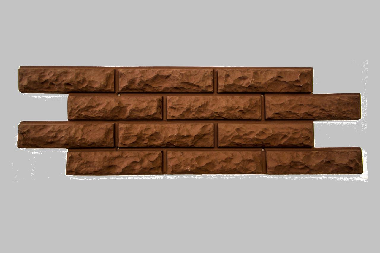Фасадные облицовочные бетонные панели. Цокольная панель Каменный кирпич
