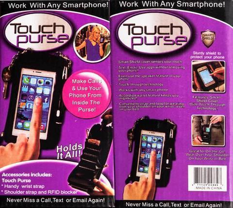 Сумочка для смартфона Touch Purse, фото 2
