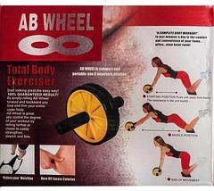 Тренажер для всего тела AB Wheel {гимнастический ролик}, фото 3