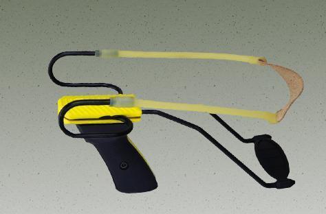 Рогатка спортивная Megaline Alpha 1, Упор: Есть, 150-180 м, Упаковка: Коробка, (161/1)