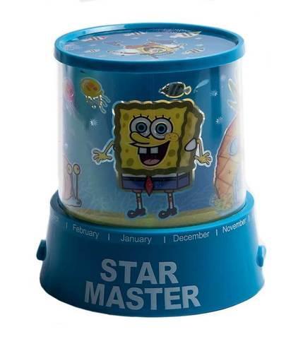 """Ночник детский, проектор Star Master """"Губка Боб Квадратные Штаны"""""""