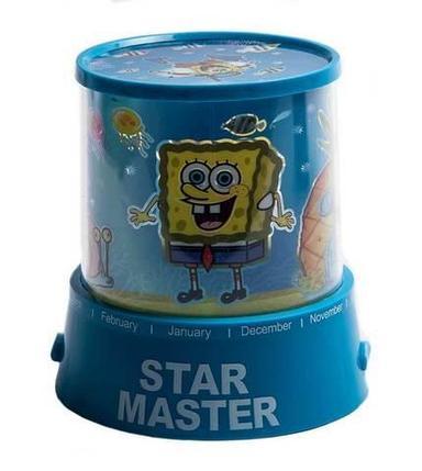 """Ночник детский, проектор Star Master """"Губка Боб Квадратные Штаны"""", фото 2"""