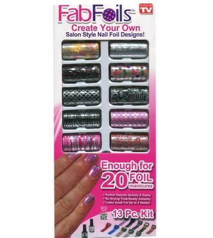 Набор для дизайна ногтей Fab Foils - фото 1
