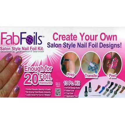 Набор для дизайна ногтей Fab Foils - фото 2