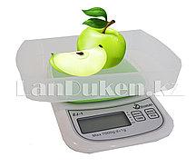Электронные кухонные весы со съёмной чашей ZJ-1