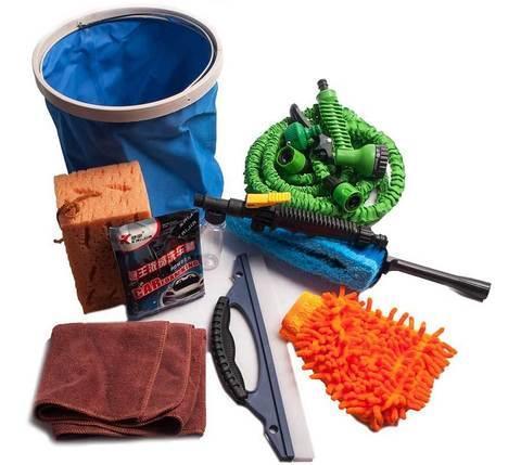 Набор для мытья автомобиля Magic Hose [8 предметов], фото 2