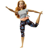 Mattel Barbie Барби Безграничные движения Шатенка