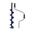 Ледобур ручной Mora Ice Easy 150, Рукоять: Цельная, Диаметр: 150 мм, Толщина льда: 900 мм, Цвет: Синий, (20442, фото 5