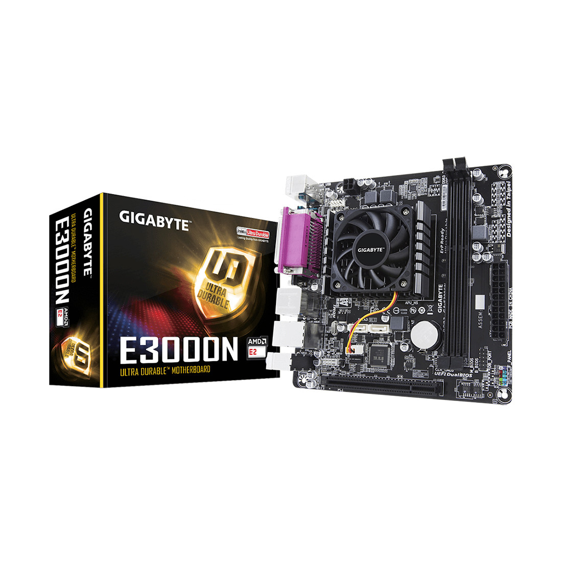 Материнская плата  Gigabyte GA-E3000N, AMD E2-3000 with Radeon™ HD 8280
