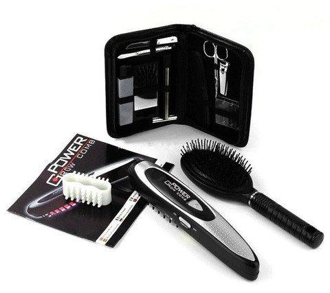 Дорожный набор для ухода за волосами с лазерной расческой Power Grow Comb, фото 2