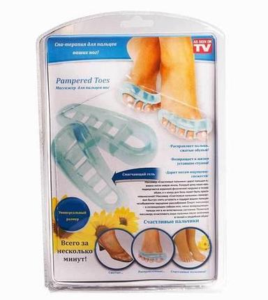 Массажер для пальцев ног Pampered Toes [пара], фото 2