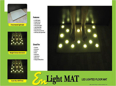 Коврик для пола со светодиодной подсветкой EN Light Mat, фото 2