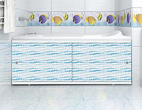 Экран для ванны МЕТАКАМ Кварт 1,5 м. Аква, фото 1