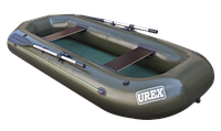 Двухместная надувная Лодка гребная UREX-21