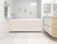 Экран для ванны МЕТАКАМ Кварт 1,5 м  Песочный, фото 1