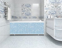 Экран для ванны МЕТАКАМ Кварт 1,5 м  Голубой иней, фото 1