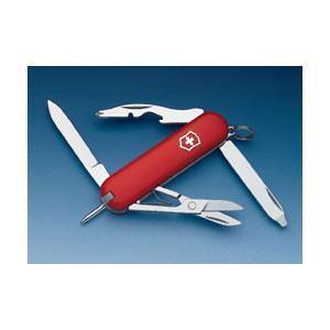 Нож складной карманный Victorinox Manager, Кол-во функций: 10 в 1, Цвет: Красный, (0.6365)