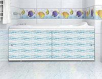 Экран для ванны МЕТАКАМ Кварт 1,7 м Аква, фото 1
