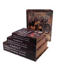 Набор деревянных шкатулок-книг «Фолиант» [комплект из 3 шт.] (Автомобиль), фото 3