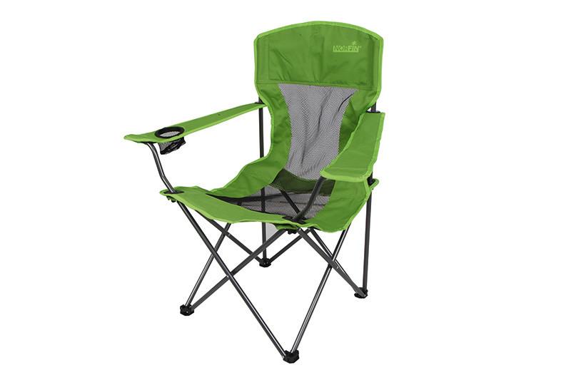 Кресло складное Norfin Fishing Raisio NF, Нагрузка (max): 100 кг, Подстаканник, Подлокотники, Вентиляция, Цвет