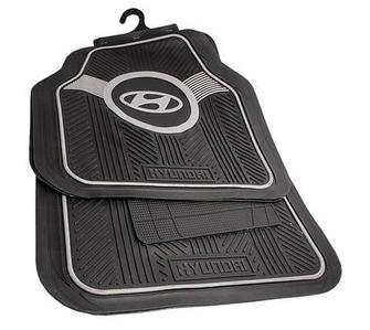 Набор ковриков с логотипом в автомобиль CARNICE (Hyundai)
