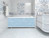 Экран для ванны МЕТАКАМ Кварт голубой иней 1,68 м