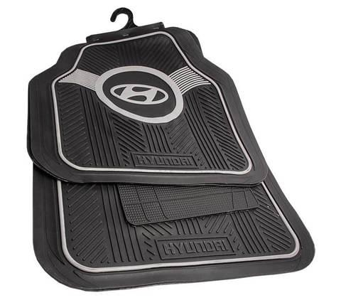 Набор ковриков с логотипом в автомобиль CARNICE (Kia)