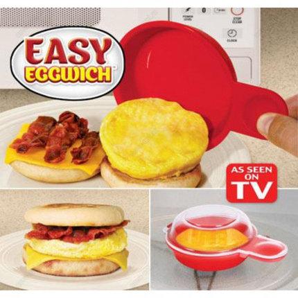 Форма для приготовления яиц в микроволновке Easy Eggwich [2 шт.], фото 2