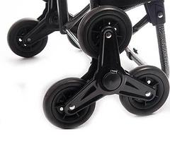 Сумка-тележка для подъёма по ступенькам со стульчиком, фото 2